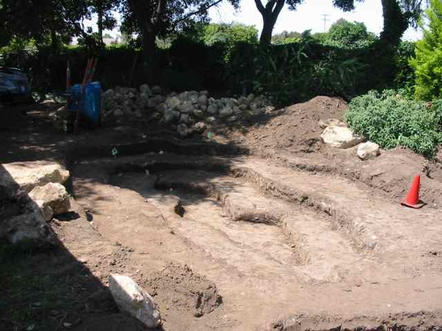 San marcos growers products plants pond installation 2 for Pond liner installation